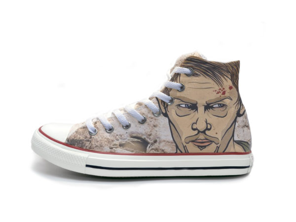 Supernaturel Dean Shoes - converse shoes - custom converse - customized converse