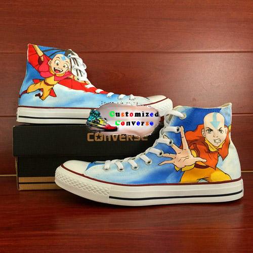 Avatar Shoes - converse shoes - custom converse - customized converse