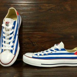 Cuba Flag Shoes - converse shoes - custom converse - customized converse