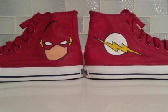 Flash Shoes - converse shoes - custom converse - customized converse