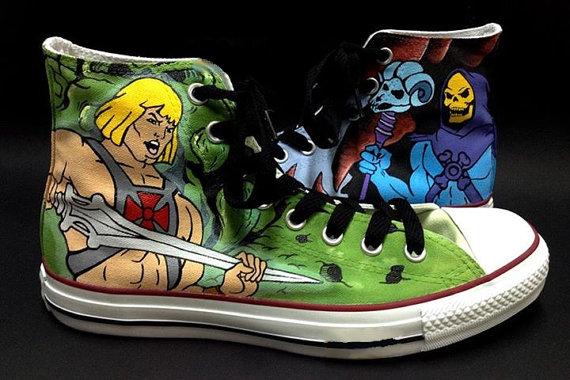 HeMan Converse Shoes - converse shoes - custom converse - customized converse