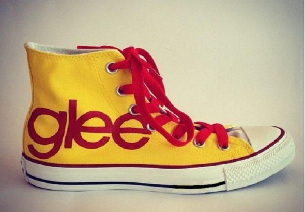 Glee Converse Shoes - converse shoes - custom converse - customized converse