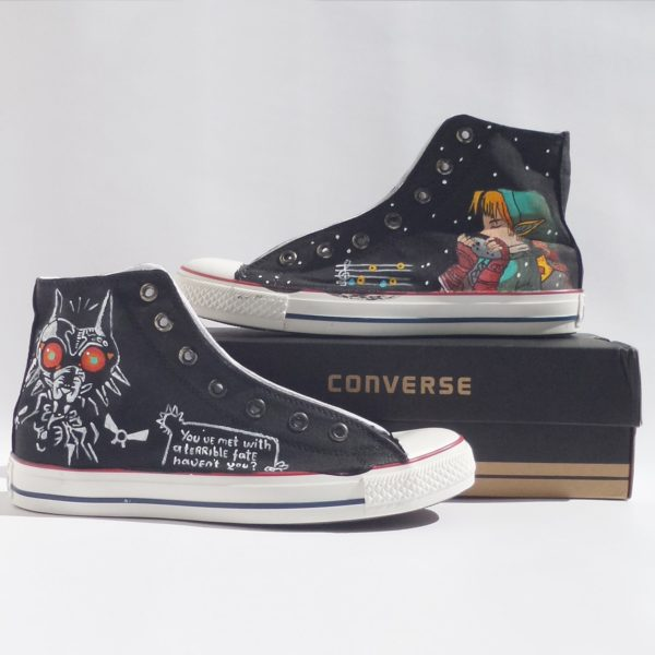 The Legend of Zelda Shoes - converse shoes - custom converse - customized converse